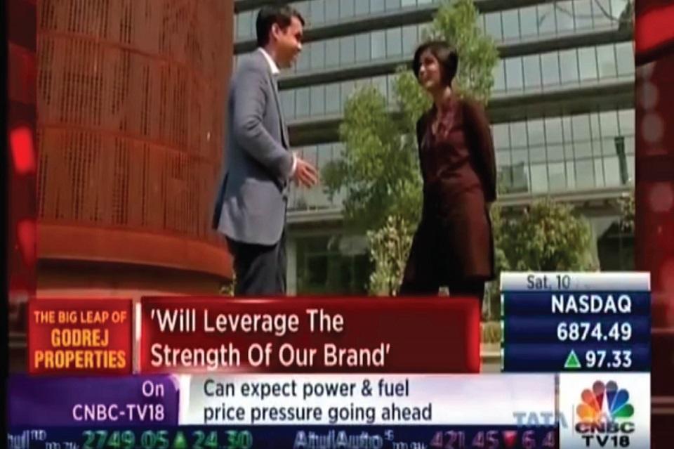 Mr. Pirojsha Godrej in conversation with Manisha Natarajan, CNBC TV18