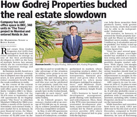 How Godrej Properties bucked the real estate slowdown