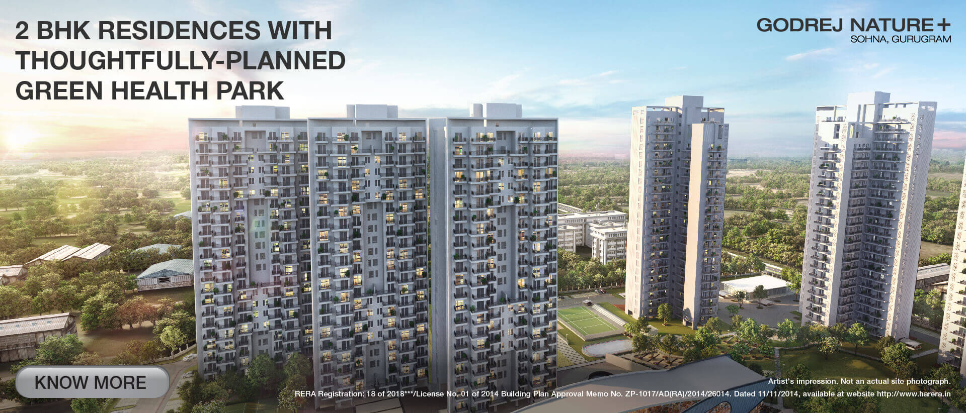 Godrej Nature Plus, Gurgaon