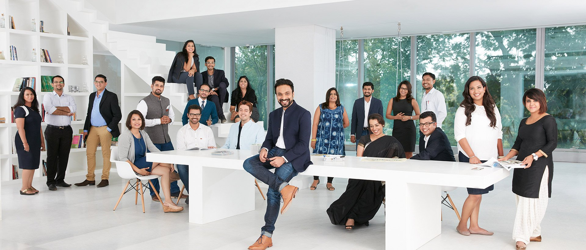 People working at Godrej Properties